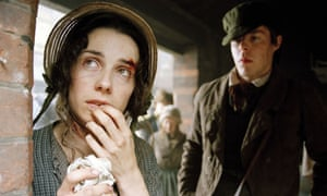 Robbed … Sally Hawkins as Susan in the TV adaptation of Sarah Waters' Fingersmith, which was shortlisted for both the Man Booker and Orange prizes