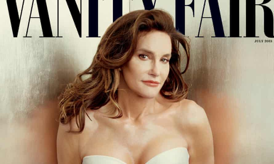 The most glamorous transition ever: Caitlyn Jenner shot by Annie Leibovitz.