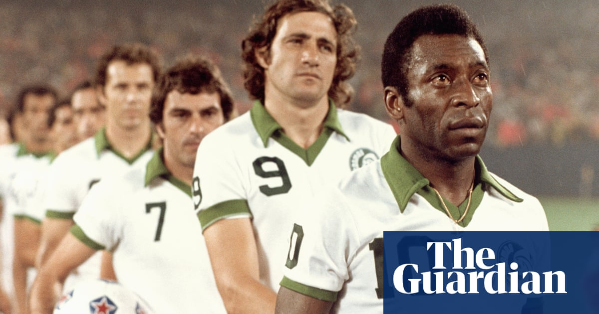40 years on  how New York Cosmos lured Pelé to a football wasteland ... d15a72d808cfa