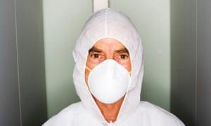 Man in Clean Suit