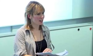 Platform activist Emma Hughes.