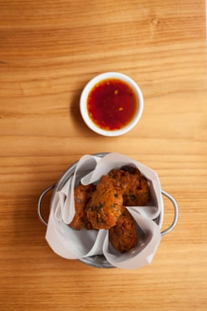 Corn fritters – good with eggs or as a snack later in the day.