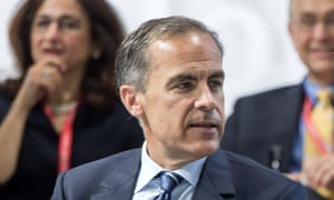 Mark Carney, governor of the Bank of England.