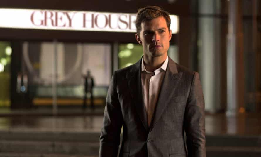 Jamie Dornan, who played Christian Grey in the 2015 film adaptation of EL James's worldwide S&M-themed smash. Photograph: Focus Features/Allstar