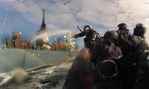 Sea Shepherd activists