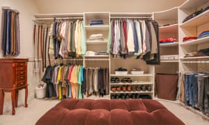 Order, order: a man's clothing, fully organised.