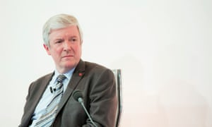 Tony Hall, director general of the British Broadcasting Corp. His 'strategy is dominated by a determination to ensure the BBC's long-term surviva'.l