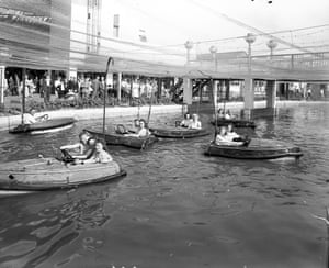 Boating Pool, Dreamland Amusement Park, Margate c1960