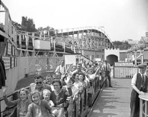 Scenic Railway, Dreamland, Margate c1950