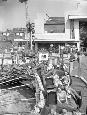 Caterpillar Ride, Dreamland, Margate c1950