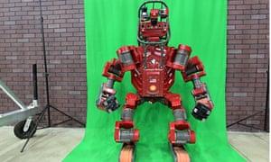 Team Tartan Rescue's Chimp (CMU highly intelligent mobile platform) robot.