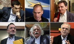 Greece bailout talks main players