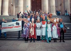 St Paul Divestment party