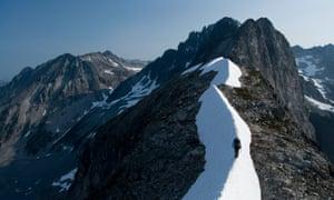 Solo journey … a walker in North Cascades National Park, WA, USA. Photograph: Cultura/REX