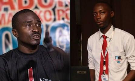 Fred Bauma and Yves Makwambala