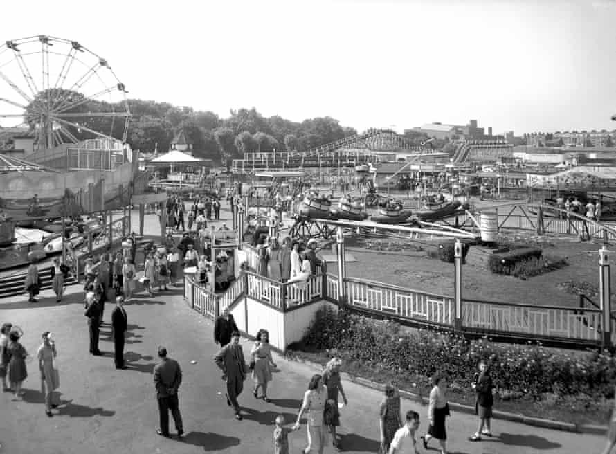 Dreamland Amusement Park, Margate c1960