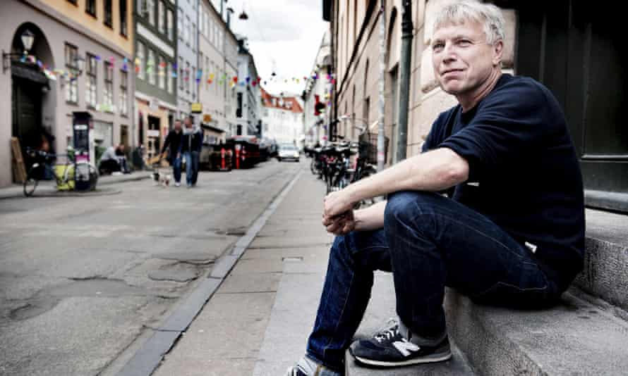 Danish opposition leader Uffe Elbaek of The Alternative is photographed at its headquarters in Copenhagen