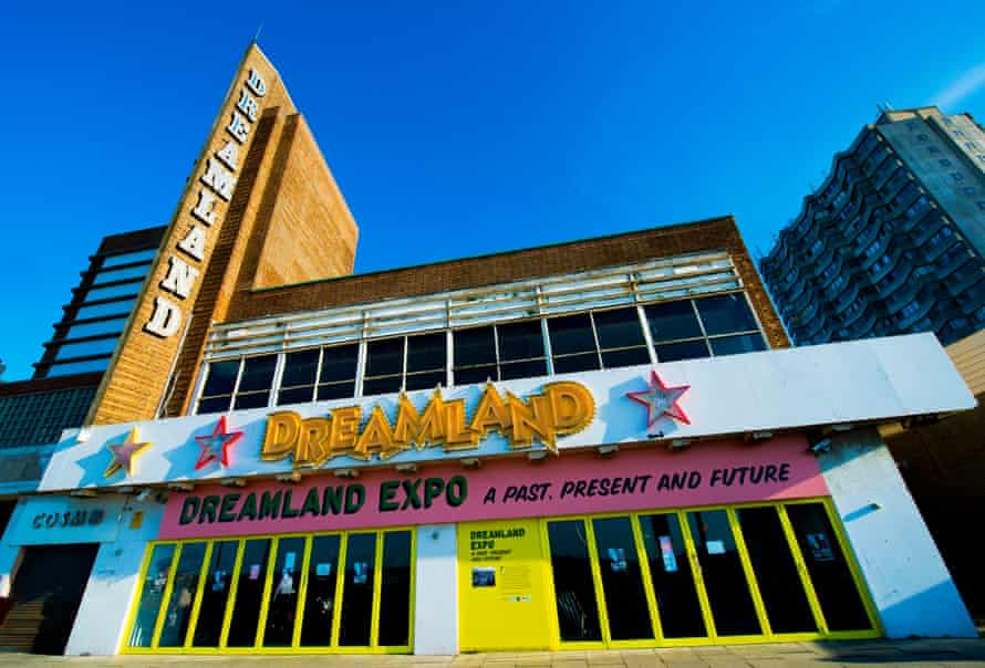 Pre-reno Dreamland. Facelifts are planned for the cinema and bingo hall.