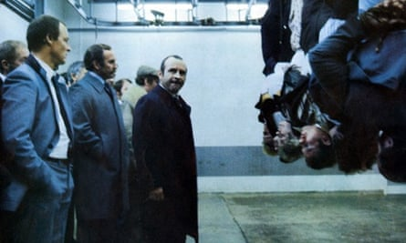 Hanging around: an iconic scene from The Long Good Friday.