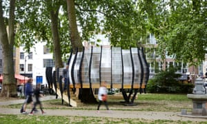 TREExOFFICE, Groundwork London's installation in the heart of Hackney