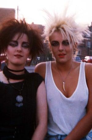 Liz as a punk