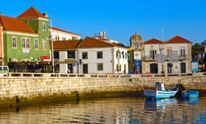 Peniche harbour is a great place for sardines