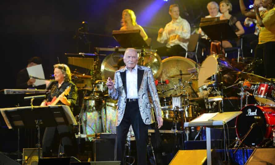 James Last in concert in Munich in 2013.