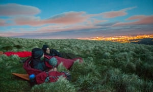 A Microadventure from Glasgow to the Campsie Fells.
