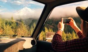 Photo stop, Oregon. Follow Forrest Mankins' road trip on forrestmankins.com.