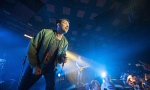Blur Perform At Glasgow Barrowlands