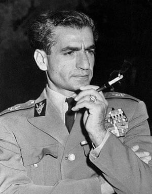 The Shah in 1954, a year after the CIA-MI6 coup.