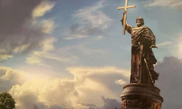 Proposed Vladimir the Great monument. Image by the Russian Military-Historical Society