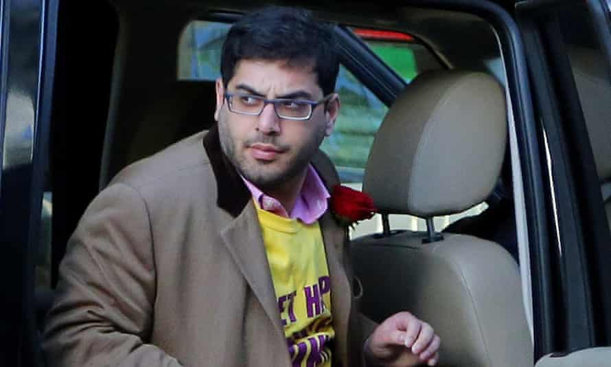 Raheem Kassam said the flat he shared with Nigel Farage during the election campagin 'looked like a Damien Hirst exhibition' because it was so unkempt.