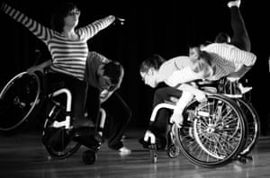 Plymouth-based dance group Wheelfever, who will perform at this year's U.Dance festival.