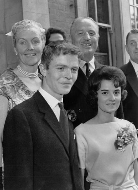 Marrying Jean Taylor in 1960, with parents Oswald and Diana.