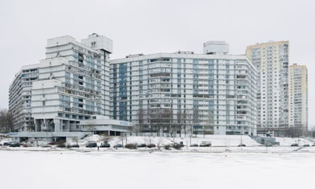 The suburb of Severnoye Chertanovo: industrialised housing comprised 75% of all Soviet housing stock by 1991.