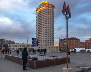 Research institutes were introduced around Novye Cheryomushki metro station in the 1960s to try to avoid it becoming a 'dormitory suburb'.