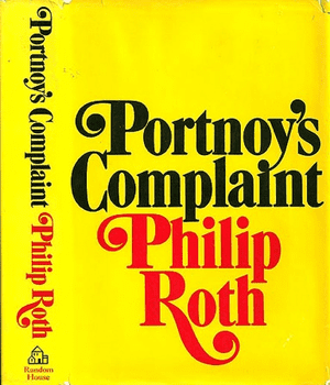 Paul Bacon cover for Portnoy's Complaint