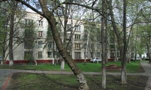 Novye Cheryomushki's 'winning' block, K7, was replicated all over the Soviet Union.