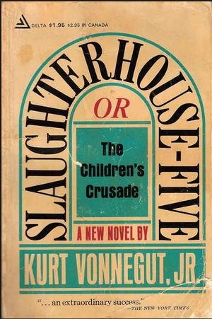 Slaughterhouse Five cover by Paul Bacon