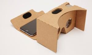 google cardboard a vr headset you make yourself technology the guardian. Black Bedroom Furniture Sets. Home Design Ideas