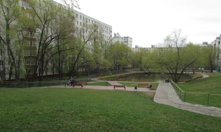 Green space in the Belyayevo suburb.