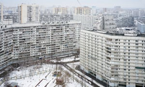 The suburb of Severnoye Chertanovo: 'You can tell something is different as soon as you get off the metro.'