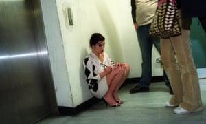Amy Winehouse at Virgin Megastore