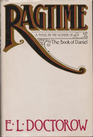Ragtime cover design by Paul Bacon