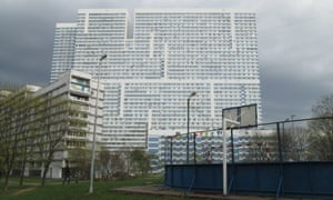 Dominating Severnoye Chertanovo today is a 40-storey monolith called Avenue 77.