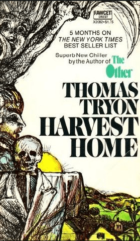 Harvest Home cover design by Paul Bacon