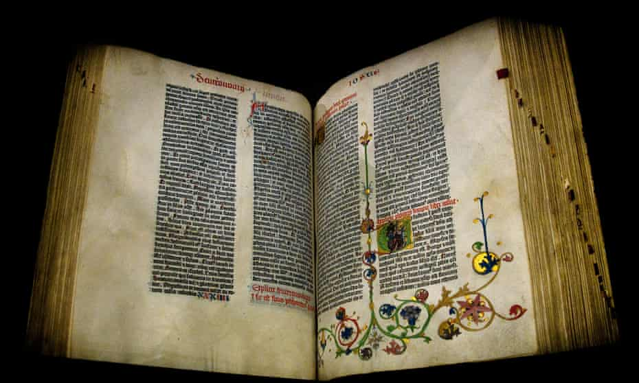 The Gutenberg Bible: Only 49 copies 'of varying completeness' survive today
