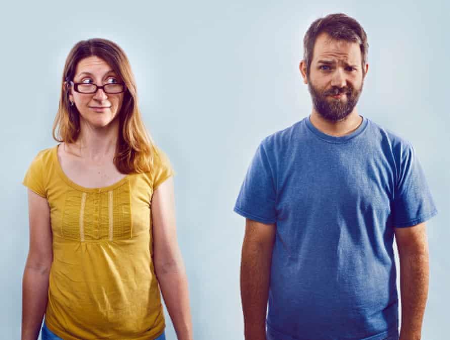 condom testers Christina Pederson and Brendan Weinhold