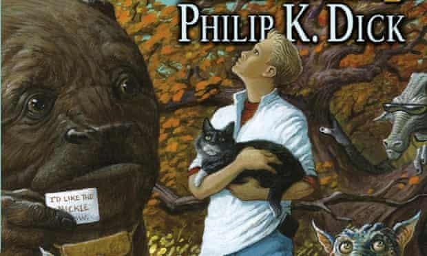 Detail from the cover of Nick and the Glimmung by Philip K Dick